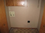 Spacious laundry room? Washer/dryer not included?