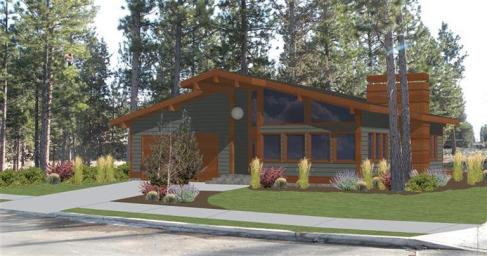Mid-Century Modern Home For Sale in Bend