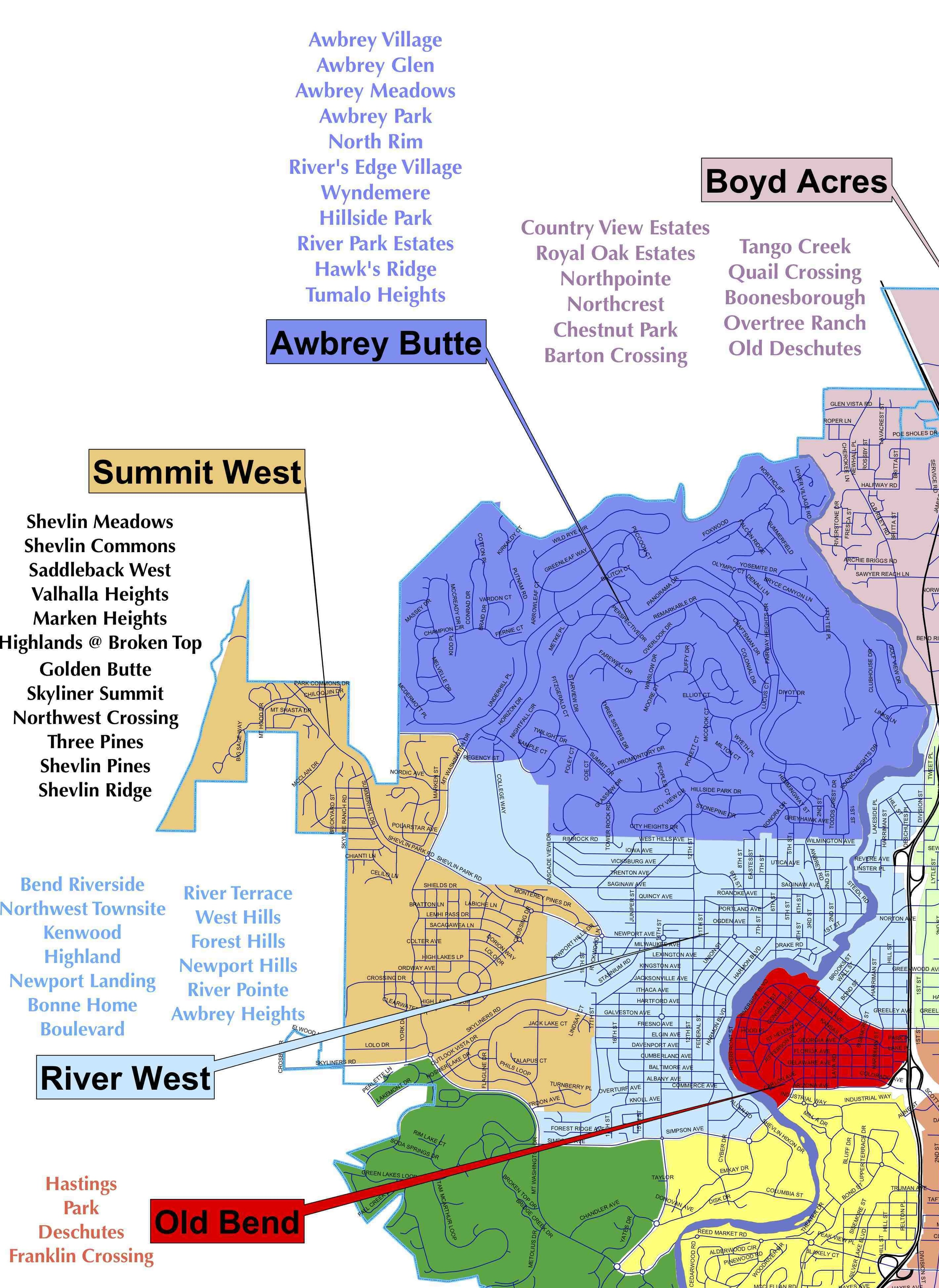 Best Neighborhoods In Bend - NW Bend - Total Bend Real Estate on