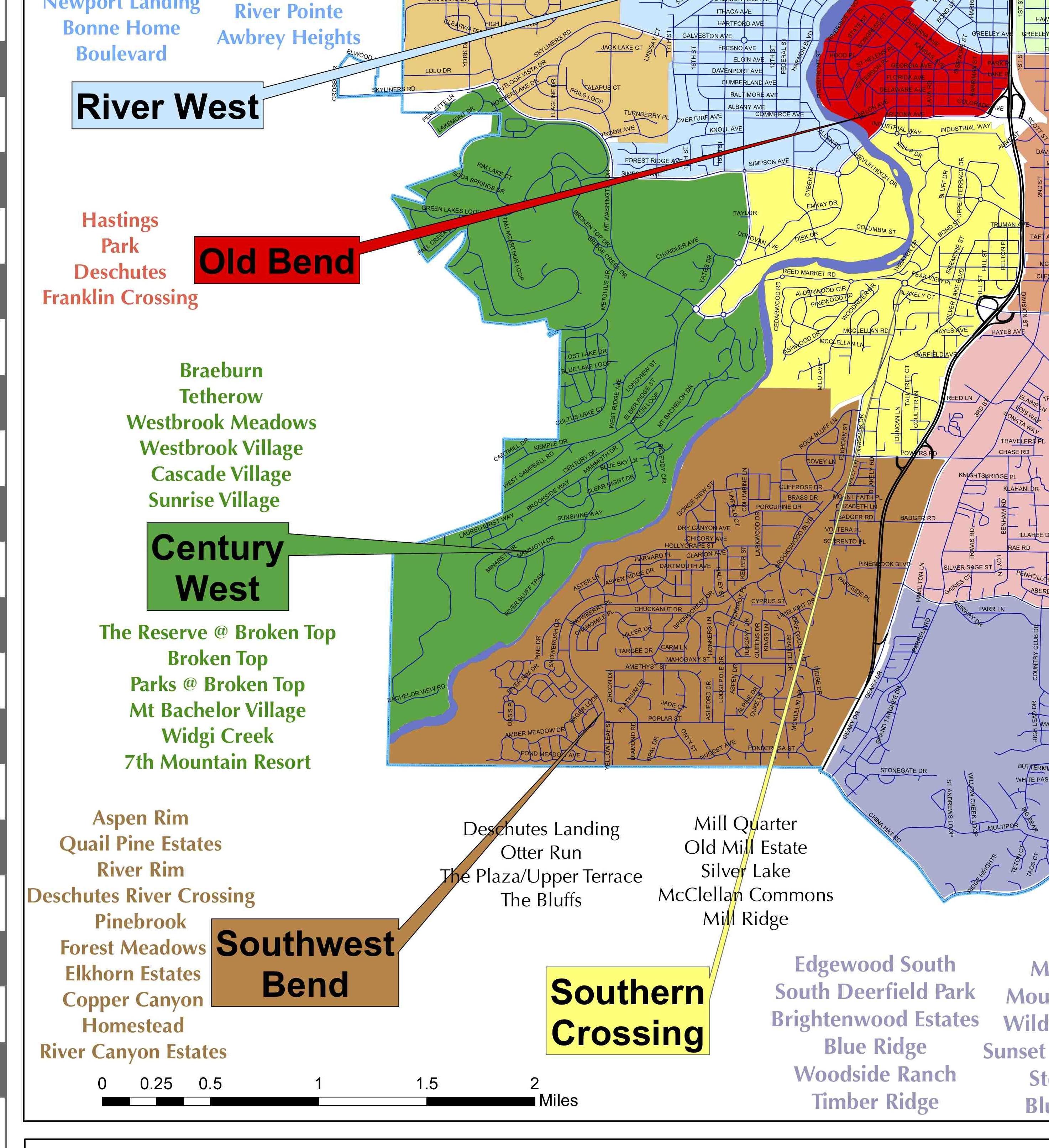 Best Neighborhoods In Bend SW Bend Total Bend Real Estate