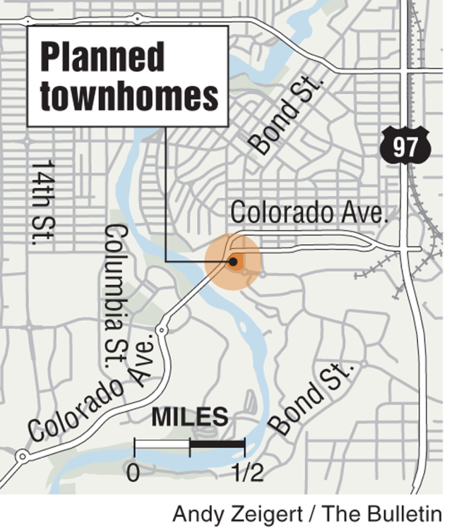 Modern townhomes coming to Bend, OR